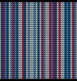 seamless vertical blue knitting wallpaper vector image vector image