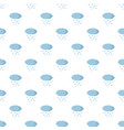 snow cloud pattern seamless vector image vector image