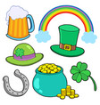 st patricks day collection vector image