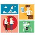 Start up business concept design vector image