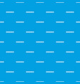 step by step infographic pattern seamless blue vector image vector image