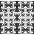 swastika ornament seamless pattern vector image vector image