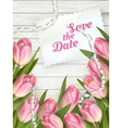 Wedding Invitation Cards EPS 10 vector image