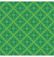 Green vintage seamless pattern vector image