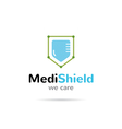Medical organization logo Healthcare creative vector image