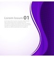 Abstract Business background vector image vector image