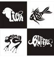 animals logo 1 vector image vector image