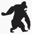 bigfoot vector image vector image