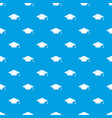 cap student pattern seamless blue vector image vector image