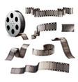 Film reels realistic set