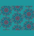 flourish pattern design vector image vector image