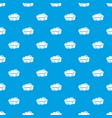 technology cloud pattern seamless blue vector image