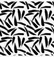 abstract artistic seamless pattern with strokes vector image vector image