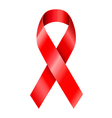 Aids awareness ribbon vector | Price: 1 Credit (USD $1)