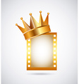 film award vector image vector image