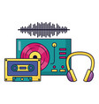 instrument and equipment festival music vector image