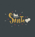 merry christmas calligraphic lettering i love vector image vector image