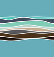 abstract colour stripes vector image vector image