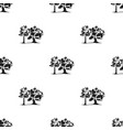 forest fire icon in black style for web vector image