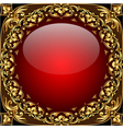 Gold Ornamental Frame Background