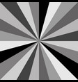 gray sunburst background pattern of swirled vector image