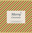 retro christmas colorful stripe line pattern vector image vector image