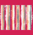 uneven ink hatch vertical lines textile pattern vector image vector image