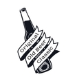 vintage craft beer vector image