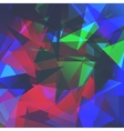 Abstract triangles background for use in your vector image vector image