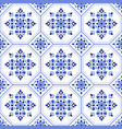 decorative tile pattern vector image vector image