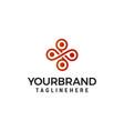 interior emblem logo design concept template vector image vector image