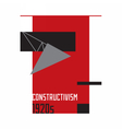 Soviet constructivism abstract 1920s vector image