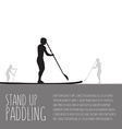 three men with stand up paddle boards and