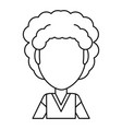 vintage kid cartoon vector image