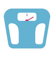 weight scale isolated vector image