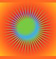 abstract starburst sunburst design element with vector image