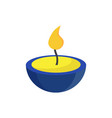 aromatherapy scent candle vector image vector image
