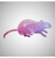 Creative concept mouse icon isolated on vector image vector image