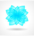 design elements flower vector image