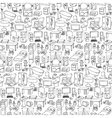 Home Furniture Seamless Pattern vector image