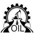 Icon oil industry vector image vector image