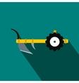 Plough flat icon vector image vector image