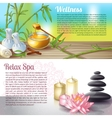 Spa Salon Compositions vector image vector image