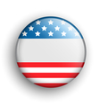 USA Icon Sign Presidents Independence Day Isolated vector image