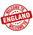 welcome to england vector image vector image