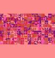 abstract chaotic polygonal mosaic pattern desktop vector image vector image