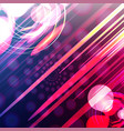 abstract color blurred gradient background with vector image vector image