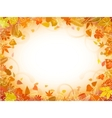Autumn leaf frame vector | Price: 1 Credit (USD $1)