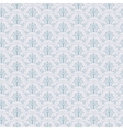 Blue Seamless wallpaper pattern vector image