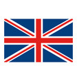 flag united kingdom classic british icon vector image vector image
